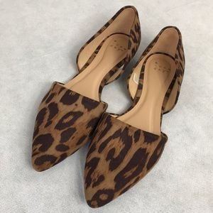 A new day size9 animal print flats